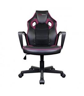 Chaise de jeu Tacens MGC0BPK Métal PVC Noir Rose
