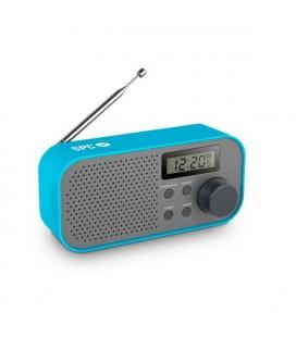 Radio transistor SPC Frosty 4570A FM/AM LCD Bleu Gris