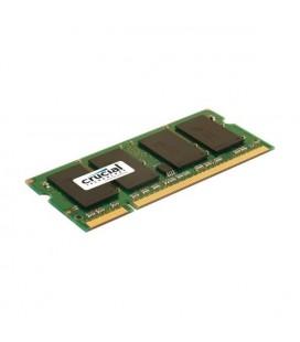 Mémoire RAM Crucial IMEMD20046 CT25664AC800 SoDim 2 GB DDR2 800 MHz CL6