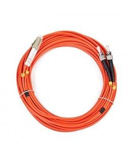 Câble Fibre Optique Duplex Multimode iggual ANEAHE0227 IGG311530 LC / ST 5 m