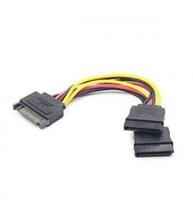 Câble Alimentation SATA iggual APTAPC0460 IGG311790 0.15 m