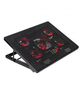 """Support de refroidissement pour ordinateur portable gaming Tacens AAOARE0123 MNBC2 2 x USB 2.0 20 dBA 17"""""""" Noir"""