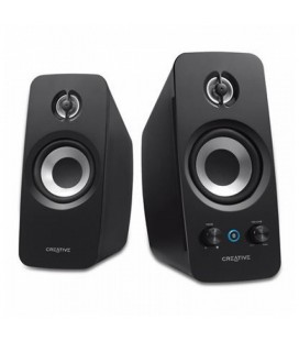Haut-parleurs de PC Creative Technology T15F-51MF1670AA000 2.0 Bluetooth BasXPort Wireless Noir