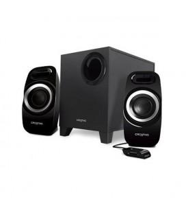 Haut-parleurs de PC Creative Technology T3300 51MF0415AA000 2.1 27W 75 DB Noir