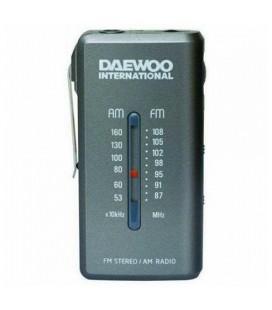 Radio Transistor Daewoo DRP-9 AM FM Gris