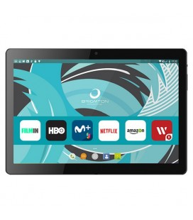 "Tablette BRIGMTON BTPC-1022 10,1"""" HD IPS Quad Core 1.3 GHz 16 GB 2 GB RAM MICRO SD DUAL SIM 3G 4500 mAh Noir"