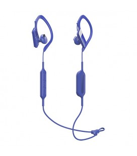 Écouteurs de Sport Bluetooth avec Microphone Panasonic RP-BTS10E-A Waterproof Bleu