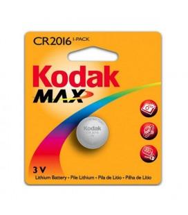 Pile Bouton au Lithium Kodak KCR2016 3 V Argent