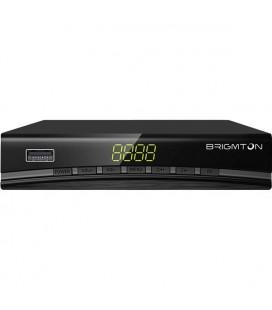 Récepteur TNT BRIGMTON BTDT2-918 Full HD USB HDMI Noir