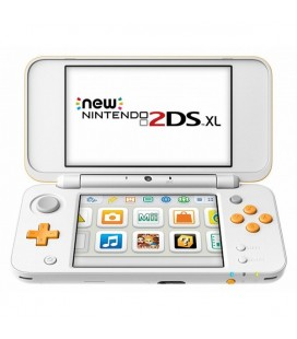 Nintendo New 2DS XL Nintendo 223593 4 GB microSDHC Blanc Orange