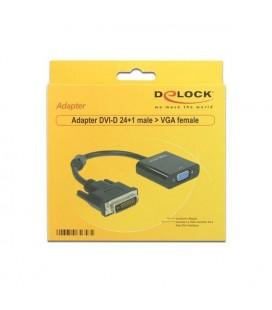 Adaptateur VGA vers DVI DELOCK APTAPC0561 65658 24+1