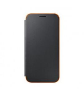 Étui pour téléphone portable Samsung EF-FA520PBEGWW Samsung A5 2017 Neon Flip Cover Noire