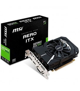 Carte Graphique Gaming MSI 912-V809-2484 GTX 1050 AERO ITX 2 GB DDR5 |