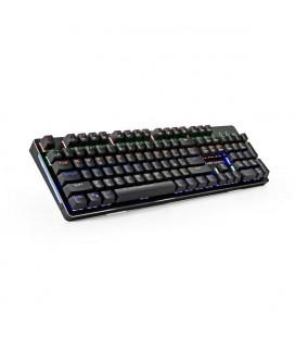 Clavier pour jeu Tacens MK4R USB RGB SWITCH Rouge Noir