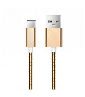 Câble USB A 2.0 vers USB C Ref. 101097 Or rose