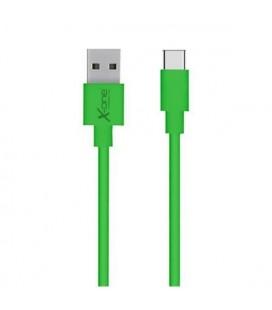 Câble USB A 2.0 vers USB C Ref. 101196 Vert