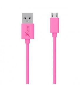 Câble Micro USB vers USB Ref. 101271 Fuchsia