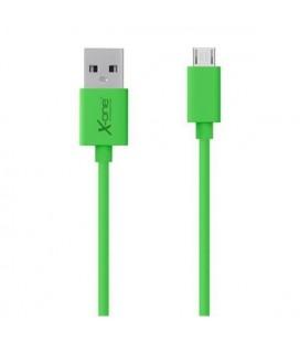 Câble Micro USB vers USB Ref. 101295 Vert