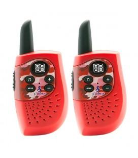 Talkie-walkie Cobra PMR HM230 3 KM Rouge