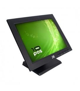"""Moniteur à Ecran Tactile 10POS FMOM150012 TS-15V TFT LCD 15"""""""" Noir"""