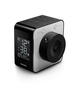 Radio-réveil Philips AJ4800/12 LCD FM Digital Noir