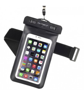 Étui étanche Akashi ALTIPX8DRYBLK Smartphone 10 m