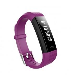 "Bracelet d'activités BRIGMTON BSPORT B1 0,87"""" OLED Bluetooth 4.0 IP67 Violet"