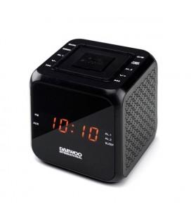 Radio-réveil Daewoo DCR-450 Noir