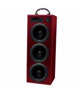 Haut-parleur Innova TW/BK5R Radio FM Bluetooth 30W Rouge