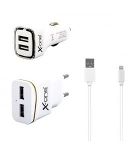 Chargeur Ref. 137713 USB MFI Blanc