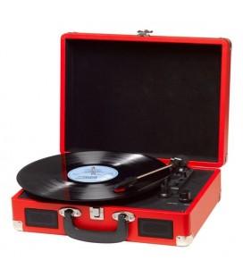 Tourne-disques Denver Electronics VPL-120 Rouge
