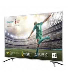 """TV intelligente Hisense 55A6500 55"""""""" 4K UHD DLED WIFI Noir Argenté"""