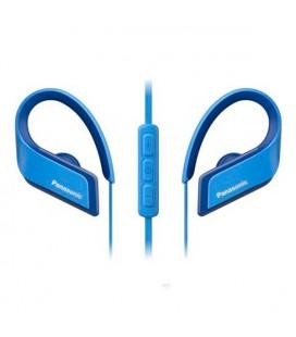 Casques Bluetooth avec Microphone Panasonic RP-BTS35E-A Bleu