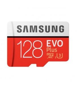 Carte Micro SD Samsung EVO Plus MB-MC128G 128 GB Rouge Blanc