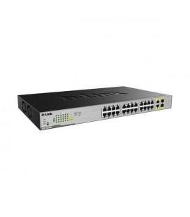 Commutateur Réseau Armoire D-Link DGS-1026MP 24 x PoE 2 x SFP