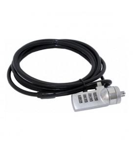 Câble de sécurité approx! APPNCLV2 1,8 m Noir