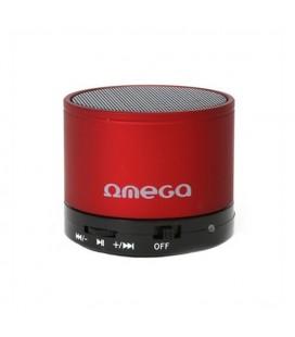 Haut-parleurs bluetooth Omega OG47R 3W Rouge