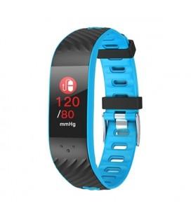 """Bracelet d'activités BRIGMTON BSPORT-16-A 0,96"""""""" OLED Bluetooth Bleu"""