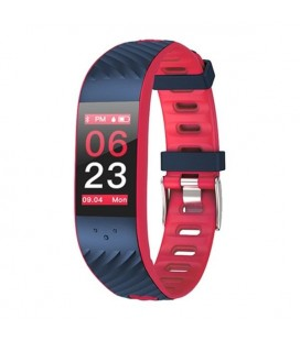 "Bracelet d'activités BRIGMTON BSPORT-16-R 0,96"""" OLED Bluetooth Rouge"