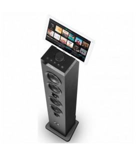 Haut-parleur SPC 4554N Bluetooth USB FM 100W Noir