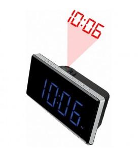 """Radio-réveil Denver Electronics CRP-515 1,8"""""""" LED FM Noir"""