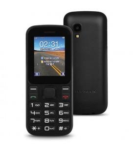 """Téléphone portable pour personnes âgées Thomson TLINK T12 1,77"""""""" Bluetooth VGA FM Noir"""