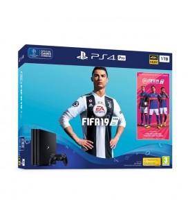 PlayStation 4 Pro + FIFA 19 Sony 63819 1 TB Noir