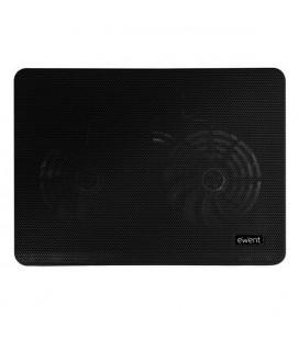 """Support de refroidissement pour ordinateur portable Ewent EW1256 12""""""""-17"""""""" Noir"""