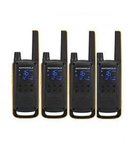 Talkie-walkie Motorola T82 Extreme (4 Pcs) Noir Jaune
