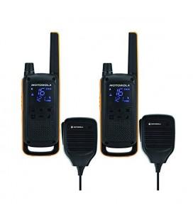 Talkie-walkie Motorola T82 Extreme RSM (2 Pcs) Noir Jaune