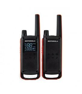 Talkie-walkie Motorola T82 (2 Pcs) Noir Jaune