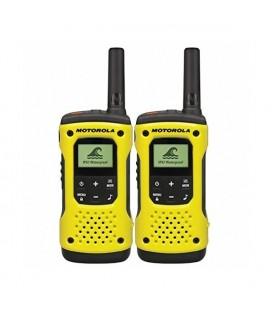 Talkie-walkie Motorola T92H2O (2 Pcs) Jaune Noir