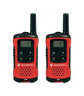 Talkie-walkie Motorola T40 (2 Pcs) Rouge