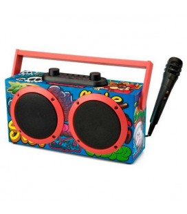 Haut-parleurs bluetooth portables Daewoo DSK-340 FM 15W Noir